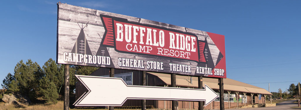 Buffalo Ridge Camp Resort. Campground General Store Theater Rental Shop