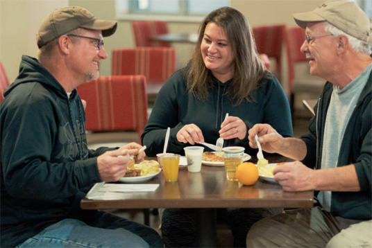 Custer South Dakota Comfort Inn and Suites Breakfast
